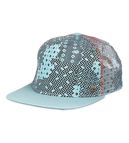 HUGO BOSS All over print cap (Turq