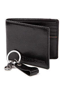 HUGO BOSS Giagnon leather wallet and key ring set