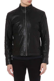 HUGO BOSS Gibson leather jacket