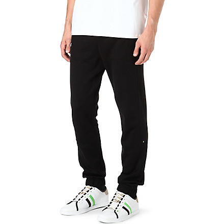 HUGO BOSS Cuffed jogging bottoms (Black