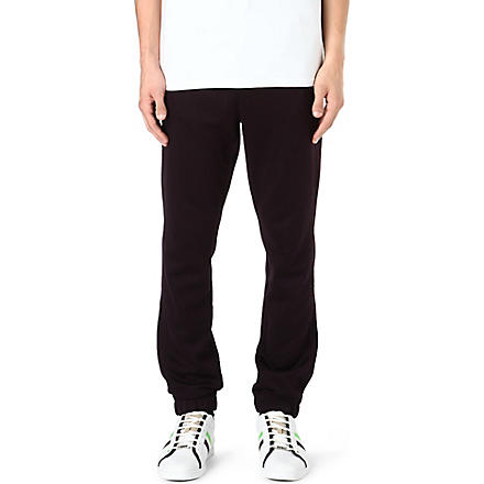 HUGO BOSS Cuffed jogging bottoms (Purple