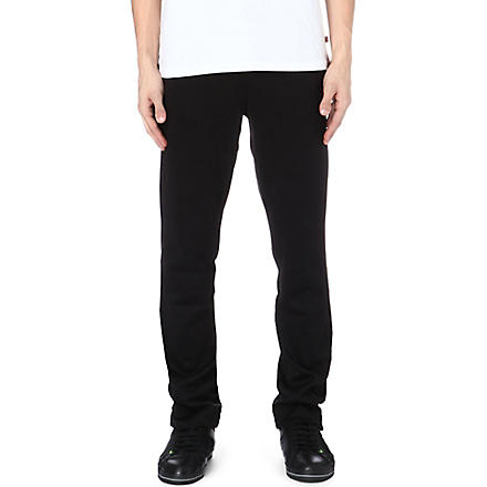 HUGO BOSS Open-leg sweat pants (Black