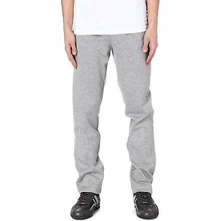 HUGO BOSS Open-leg sweat pants (Grey