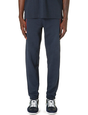 HUGO BOSS Piping-detail jogging bottoms