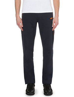 HUGO BOSS Halvo pipe-detail jogging bottoms