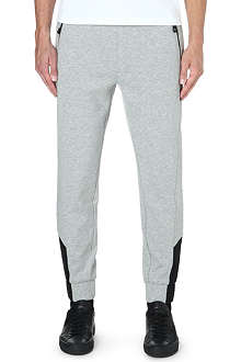HUGO BOSS Cotton-blend jogging bottoms
