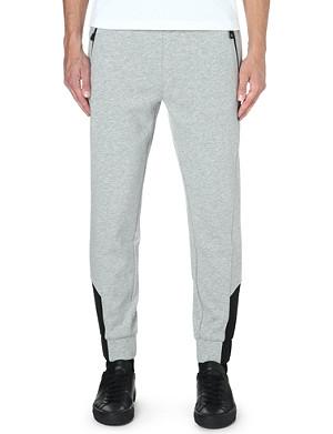 HUGO BOSS Cotton-blend jogging bottoms
