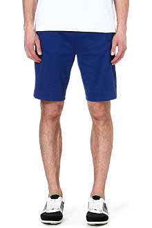 HUGO BOSS Cotton-blend sweat shorts
