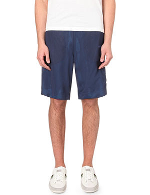 HUGO BOSS Reversible double-layer mesh shorts