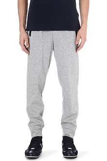 HUGO BOSS Contrast-zip sweat pants