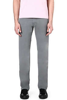 HUGO BOSS Iowa regular-fit twill trousers