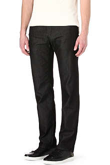 HUGO BOSS Iowa regular-fit silk-denim jeans