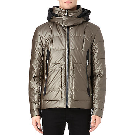 HUGO BOSS Jabbar quilted jacket (Beige