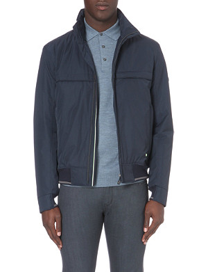 HUGO BOSS Jadon technical bomber jacket