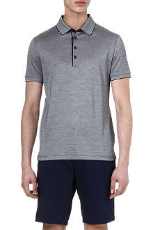 HUGO BOSS Merci stitch detail polo shirt