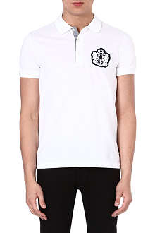 HUGO BOSS Janis crest polo shirt