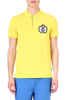 HUGO BOSS Janis crest logo polo shirt