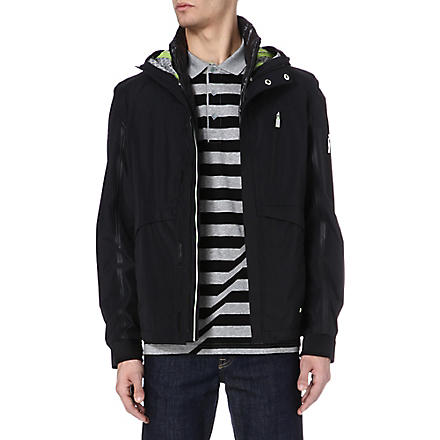 HUGO BOSS 2 in 1 hooded coat (Black