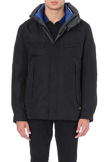 HUGO BOSS Mid-length feather down coat