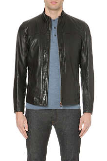 HUGO BOSS Jips leather jacket