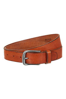 HUGO BOSS Leather jeans belt