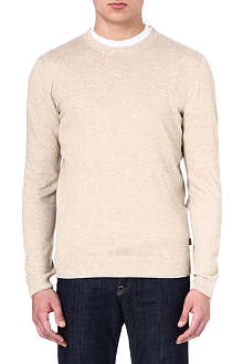 HUGO BOSS Linen mix jumper