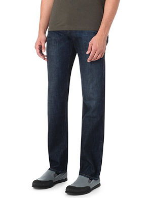 HUGO BOSS Regular-fit straight-cut jeans