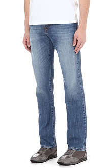HUGO BOSS Kansas regular-fit straight jeans