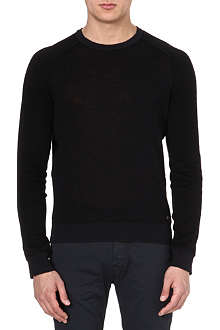 HUGO BOSS Linen-blend jumper
