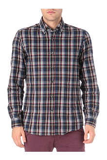 HUGO BOSS Flannel checked shirt