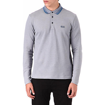 HUGO BOSS Plosy polo shirt (Blue