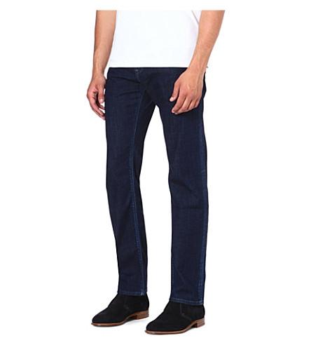 HUGO BOSS Maine regular-fit straight jeans (Navy