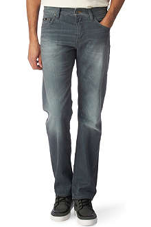 HUGO BOSS Maine Greencast regular-fit straight jeans