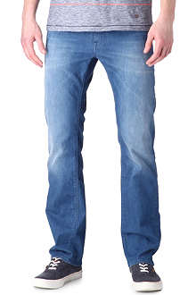 HUGO BOSS Maine regular-fit straight jeans