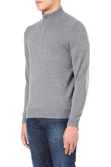HUGO BOSS Mart half-zip neck jumper