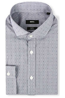 HUGO BOSS Mason slim-fit single-cuff shirt