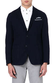 HUGO BOSS Linen-blend jacket