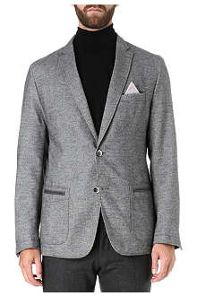 HUGO BOSS Wool-blend pocket jacket