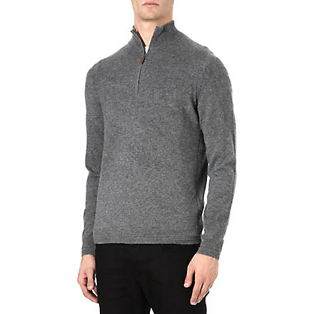 HUGO BOSS Naldo cashmere jumper (Grey
