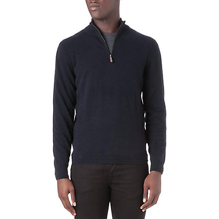 HUGO BOSS Naldo cashmere jumper (Navy