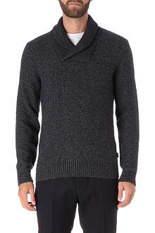 HUGO BOSS Nard shawl jumper