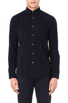 HUGO BOSS Slim-fit corduroy shirt