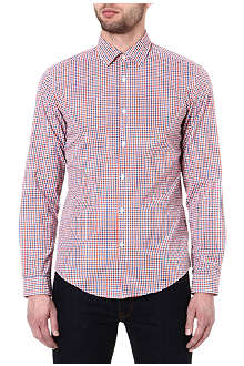 HUGO BOSS Nemo gingham shirt