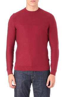 HUGO BOSS Niato textured jumper