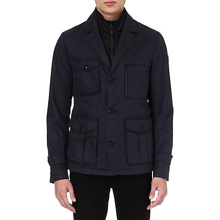 HUGO BOSS Double-layered jacket (Navy