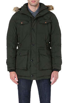HUGO BOSS Obend quilted coat