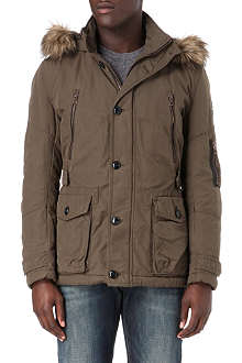 HUGO BOSS Canvas parka jacket