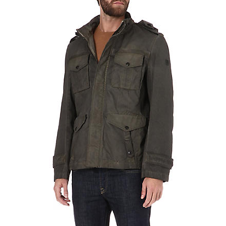 HUGO BOSS Omnitronic field jacket (Green