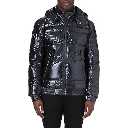 HUGO BOSS Opistol quilted bomber jacket (Navy