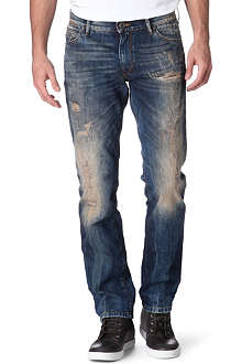 HUGO BOSS Orange 24 regular-fit straight jeans